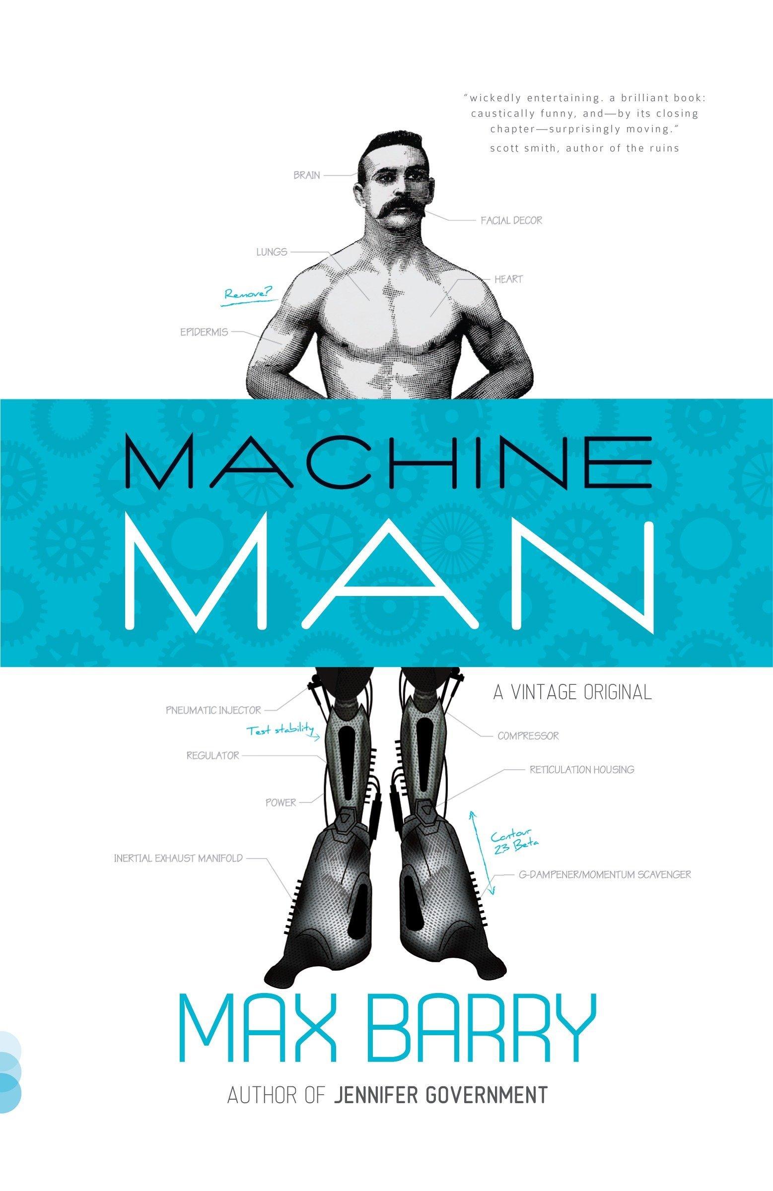 MACHINE MAN COVER